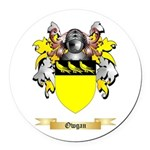Owgan Round Car Magnet