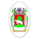 Owens Sticker (Oval 50 pk)