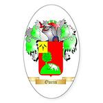 Owens (Antrim) Sticker (Oval)