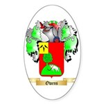 Owens (Antrim) Sticker (Oval 10 pk)