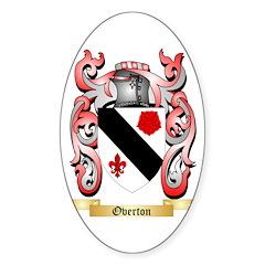 Overton Sticker (Oval 10 pk)
