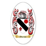Overton Sticker (Oval 50 pk)