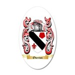 Overton 20x12 Oval Wall Decal