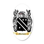 Overbury Oval Car Magnet