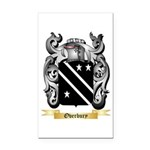 Overbury Rectangle Car Magnet