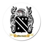 Overbury Round Car Magnet