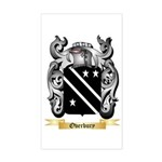 Overbury Sticker (Rectangle)