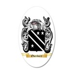 Overbury 20x12 Oval Wall Decal