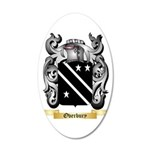 Overbury 35x21 Oval Wall Decal