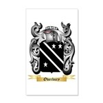 Overbury 20x12 Wall Decal