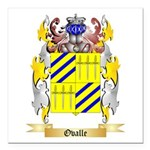 Ovalle Square Car Magnet 3