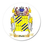 Ovalle Round Car Magnet