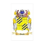 Ovalle Sticker (Rectangle 50 pk)
