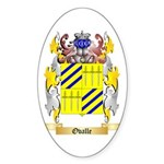 Ovalle Sticker (Oval 10 pk)