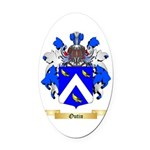 Outin Oval Car Magnet