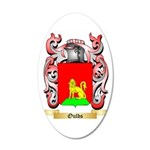 Oulds 35x21 Oval Wall Decal