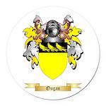 Ougan Round Car Magnet