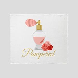 Pampered Perfume Throw Blanket
