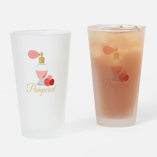 Pampered Perfume Drinking Glass