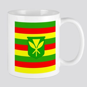 Kanaka Maoli Flag Mugs