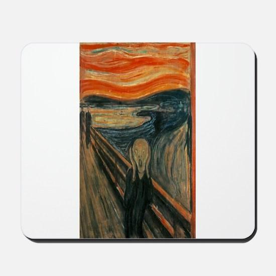 Edvard Munch's The Scream Mousepad