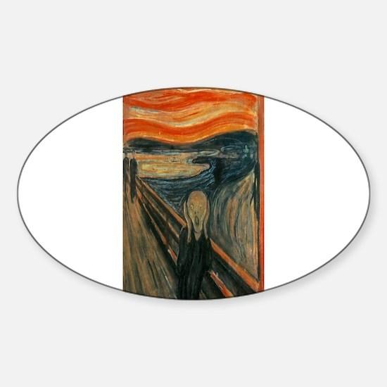 Edvard Munch's The Scream Decal