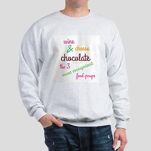 3 Best Food Groups Men's Sweatshirt