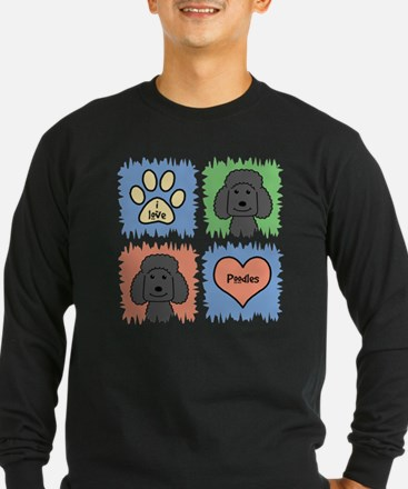 Cool Standard white poodle T