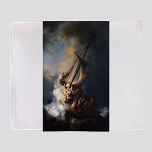 Rembrandt's The Night Watch Throw Blanket
