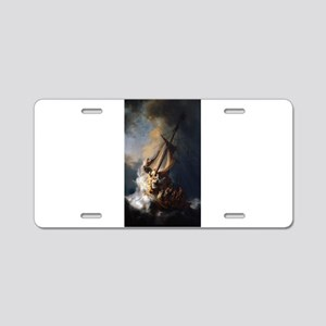 Rembrandt's The Night Watch Aluminum License Plate