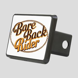 Bareback Rider Rectangular Hitch Cover