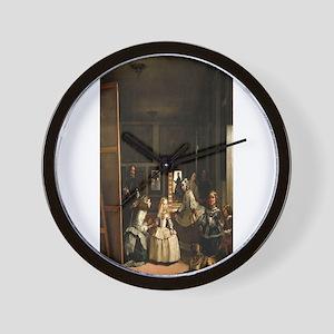 Diego Velazquez's Las Meninas Wall Clock