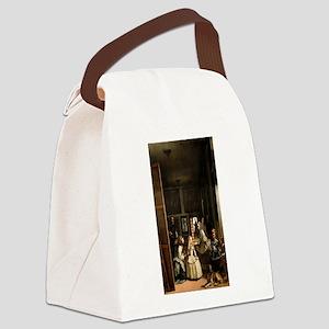Diego Velazquez's Las Meninas Canvas Lunch Bag
