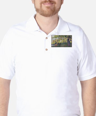 Georges Seurat's A Sunday Afternoon on Golf Shirt