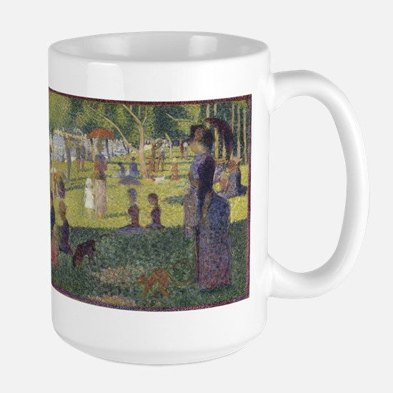 Georges Seurat's A Sunday Afternoon on the Is Mugs