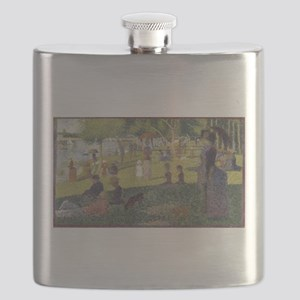Georges Seurat's A Sunday Afternoon on the I Flask