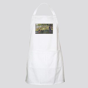 Georges Seurat's A Sunday Afternoon on the I Apron