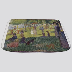 Georges Seurat's A Sunday Afternoon on the Bathmat