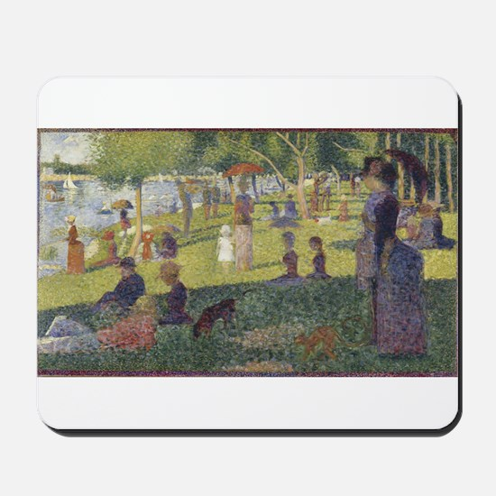 Georges Seurat's A Sunday Afternoon on t Mousepad
