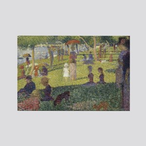 Georges Seurat's A Sunday Afternoon on the Magnets