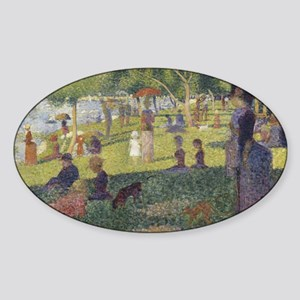 Georges Seurat's A Sunday Afternoon on the Sticker