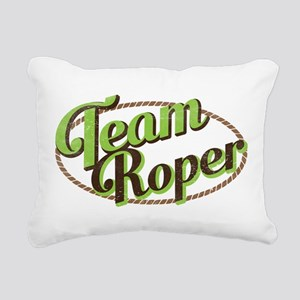 Team Roper Rectangular Canvas Pillow