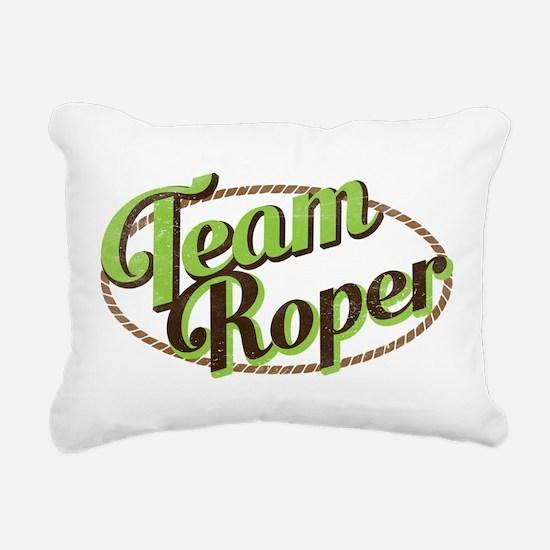Team Roper Rectangular Canvas Pillow