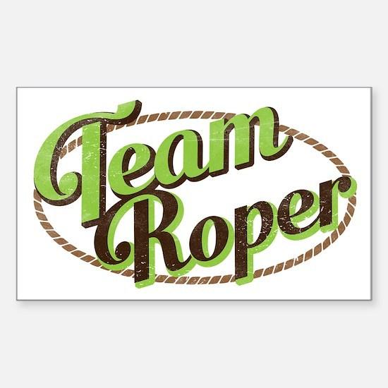 Team Roper Decal