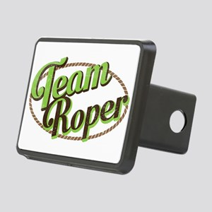 Team Roper Rectangular Hitch Cover