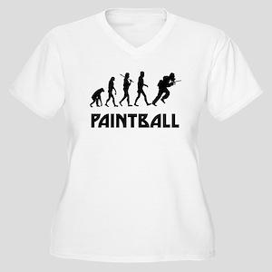 Paintball Evolution Plus Size T-Shirt