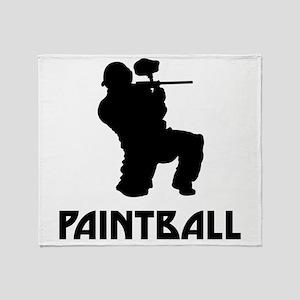 Paintball Throw Blanket