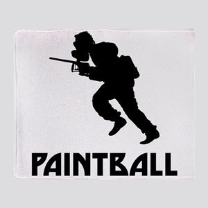 Paintball Throw Blanket