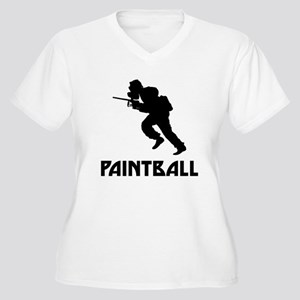 Paintball Plus Size T-Shirt