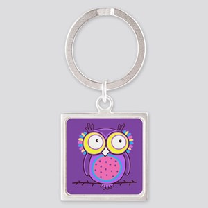 Colorful Owl Keychains